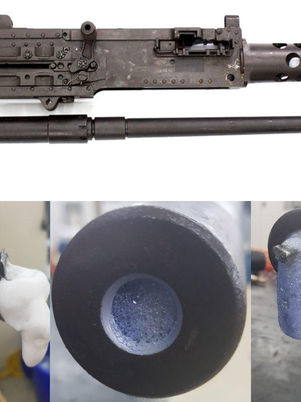 Tardu Bore Cleaning Foam - Namlu Temizleme Köpüğü - 12.7mm Uçaksavar Namlu Temizliği- Anti-Aircraft Weapon Cleaning