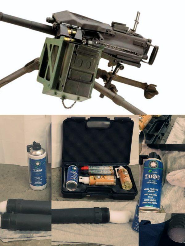 Tardu Bore Cleaning Foam - Namlu Temizleme Köpüğü - 40mm Automatic Grenade Launcher Bore Cleaning - Otomatik Bombaatar Namlu Temizliği