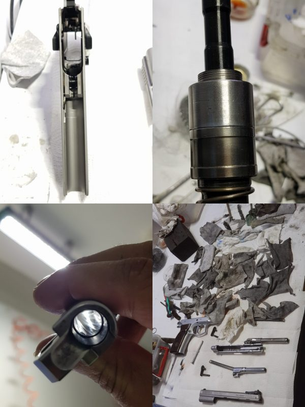 Tolun GunPowder, Copper and Lead Cleaner - Handgun and Shotgun Parts Cleaning